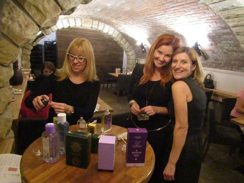 Degustace parfémů s gurmánskou večeří