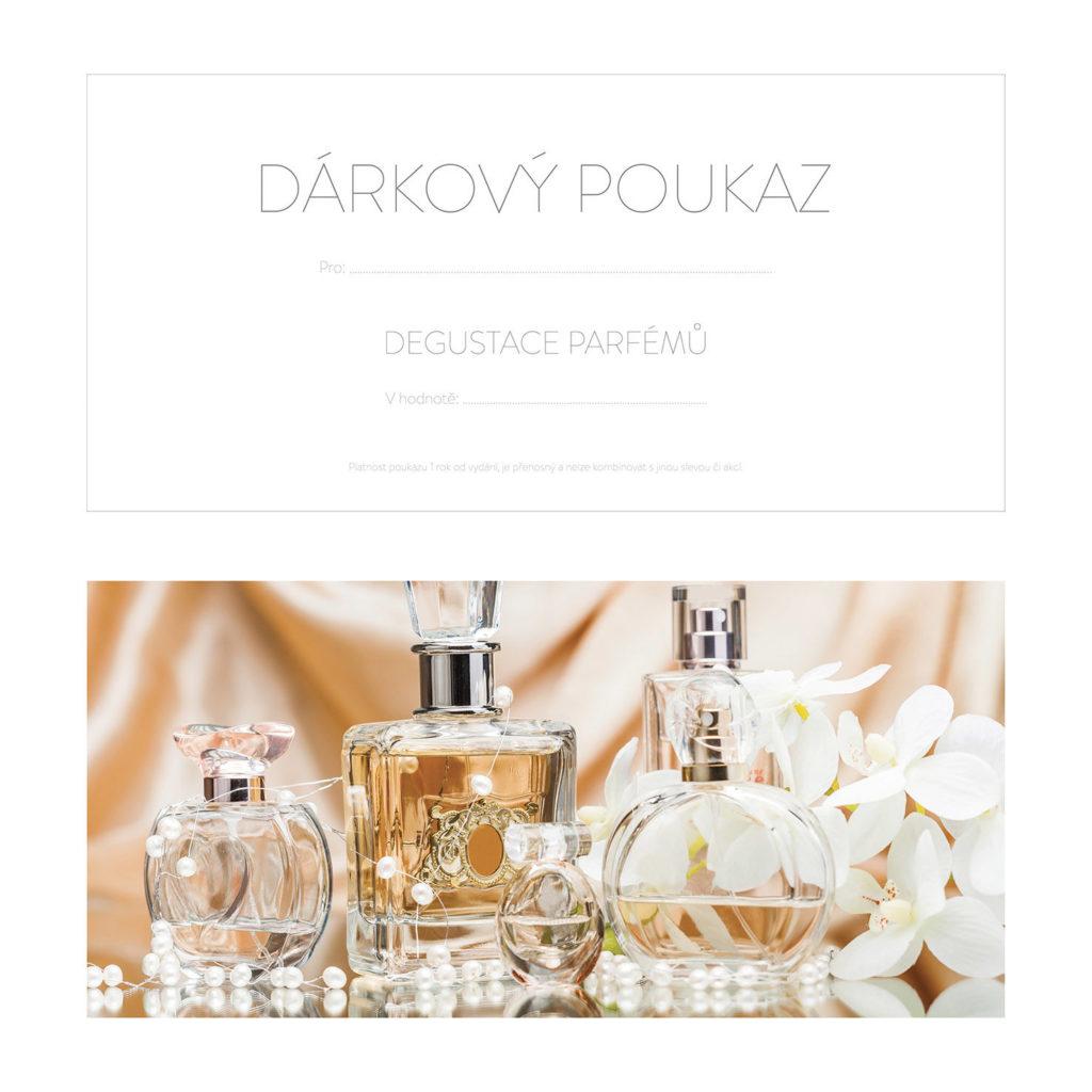 Dárkový poukaz na Degustaci parfémů